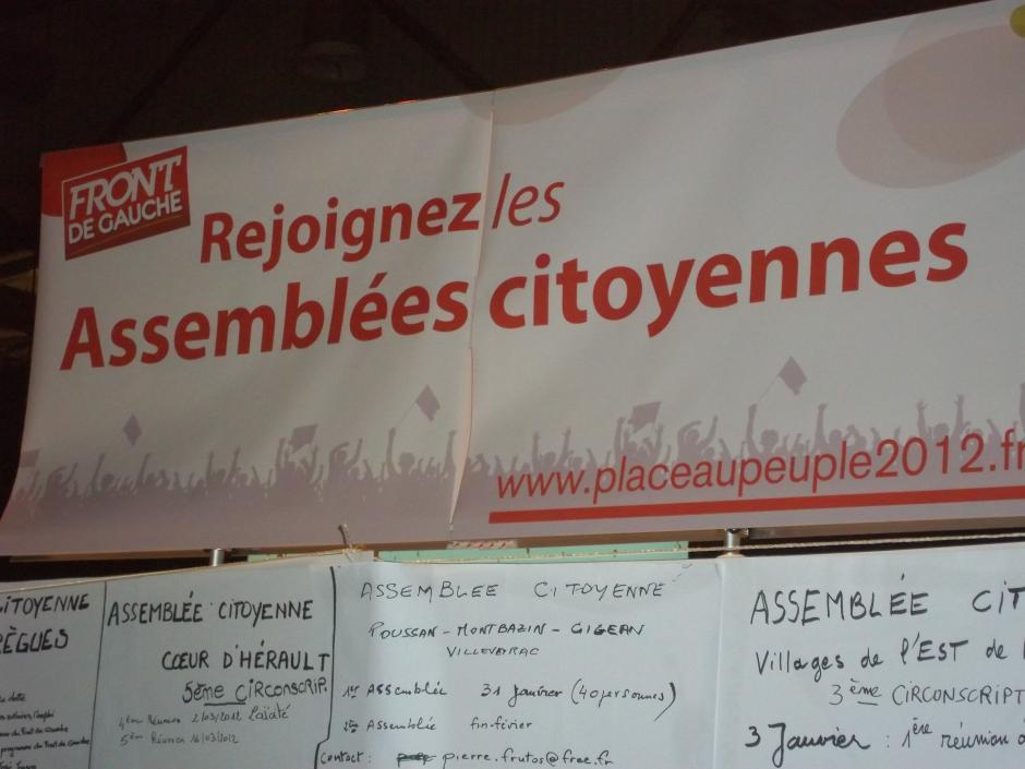 Assemblées citoyennes